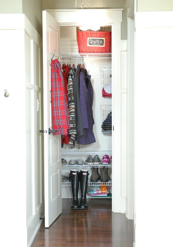 Coat Closet Inspiration