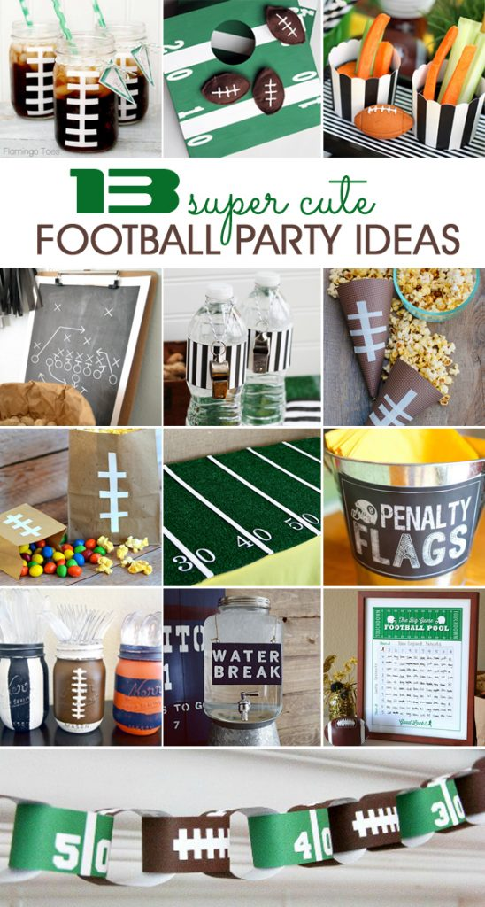 football party ideas for the Super Bowl