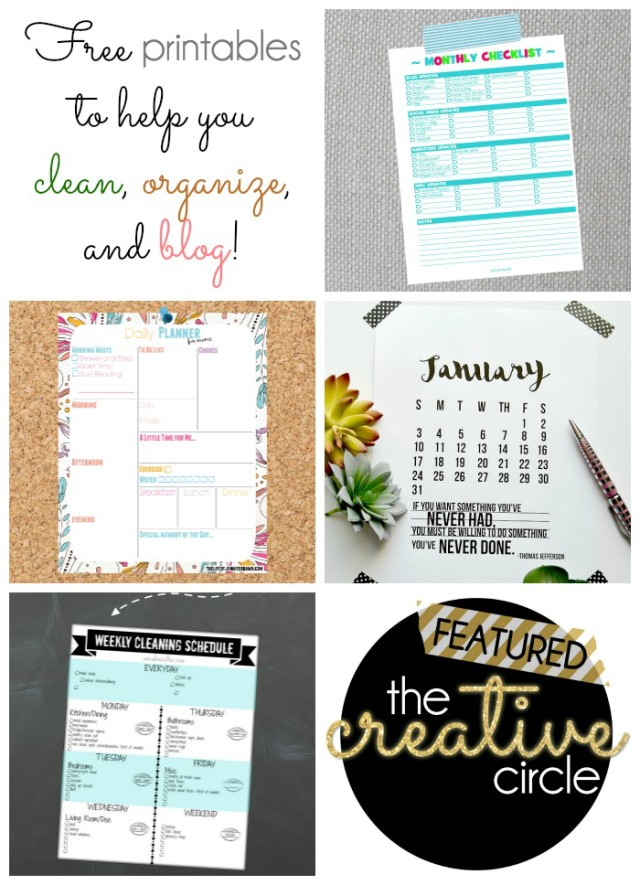 Cleaning Organizing Blogging Tips