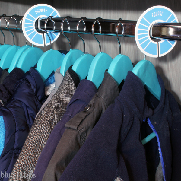 Coat Closet Rod Dividers