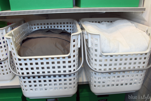 Linen Closet Sheets & Towels