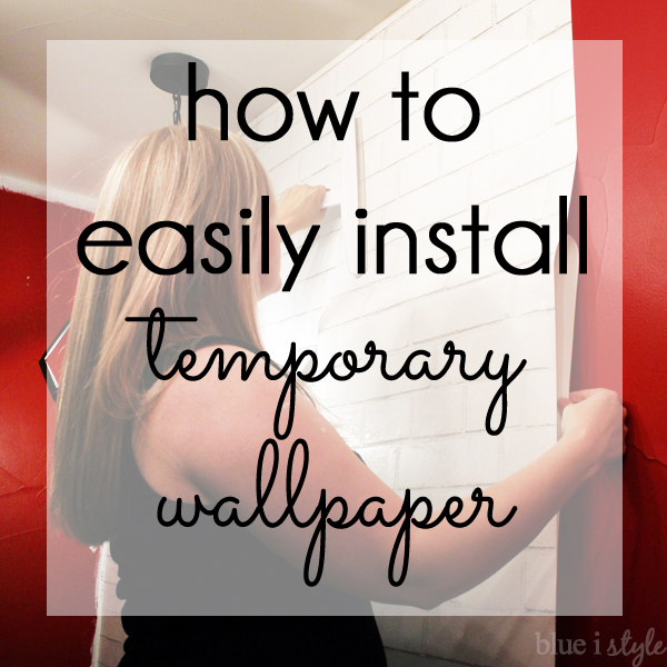 How to install temporary wallpaper