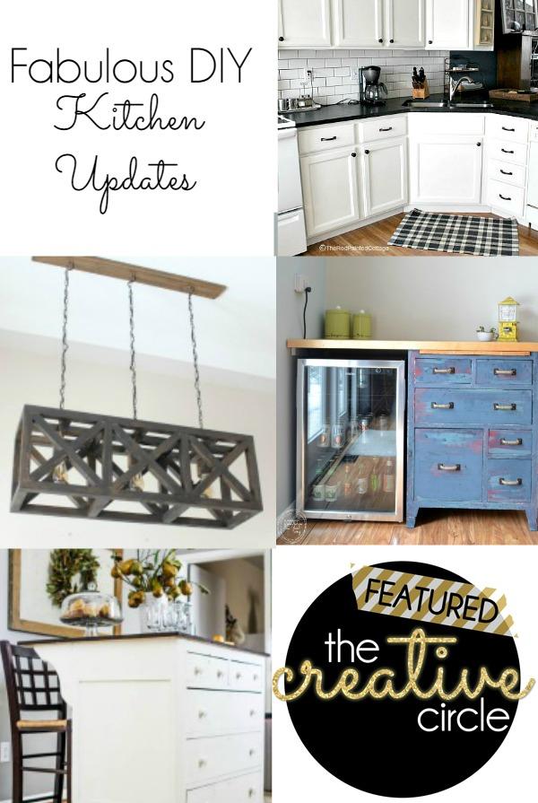 Fabulous DIY Kitchen Updates