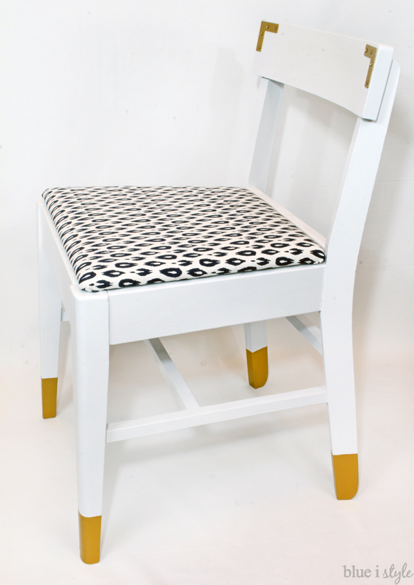 drab to fab chair makeover