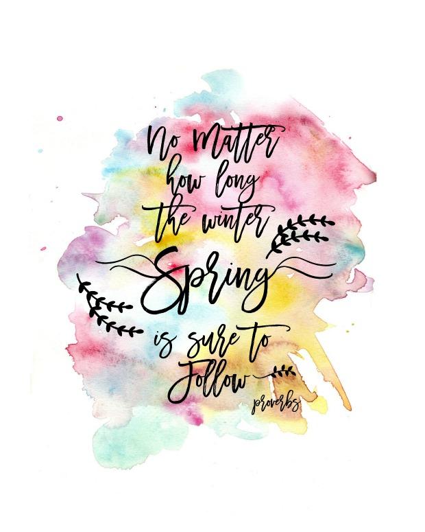SpringWatercolorPrint