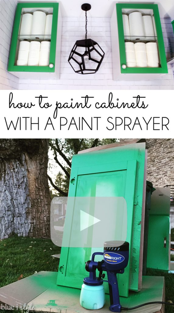 HomeRight Paint Sprayer Video Tutorial Paint Cabinets