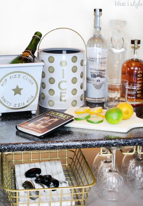 Kate Spade Inspired Bar Accessories