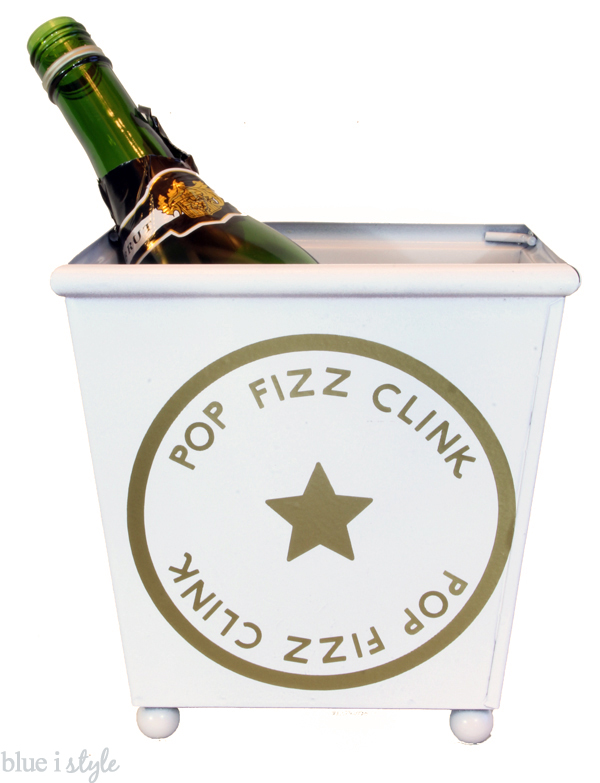 Kate Spade Inspired Champagne Bucket