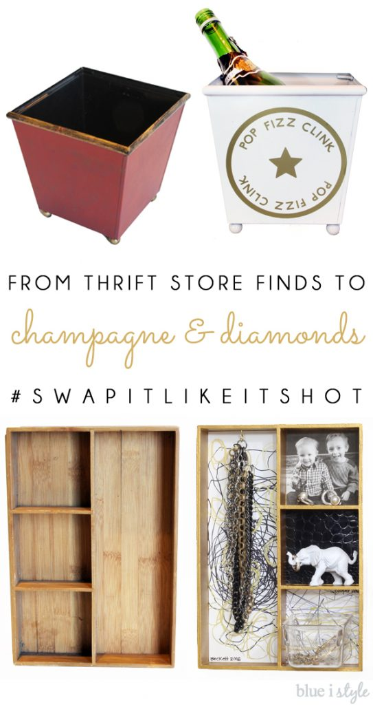 Thrift Store finds get glam makeovers