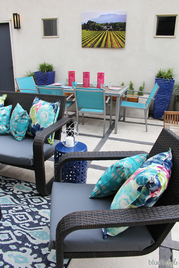 Small patio decorating ideas