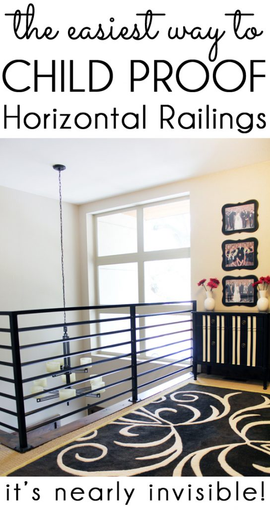 Baby Proof Child Proof Horizontal Railing