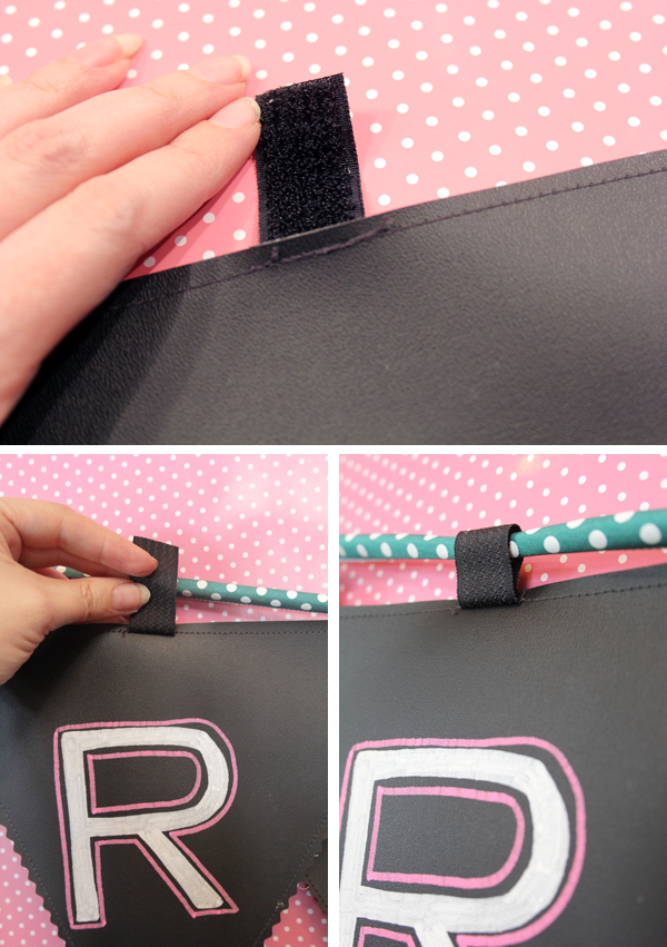 DIY Reusable Chalkboard Banner