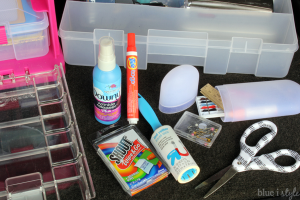 Organized Car Kit Clothing Care