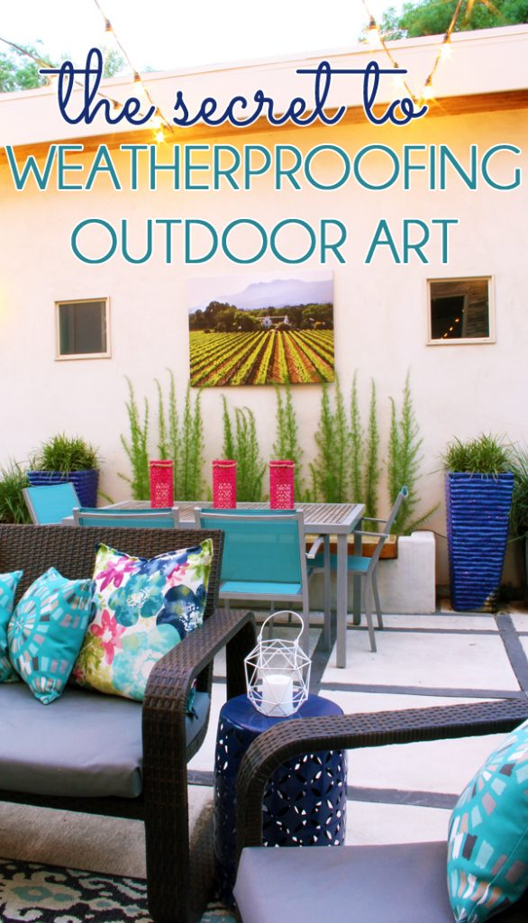 How to Weatherproof Outdoor Art