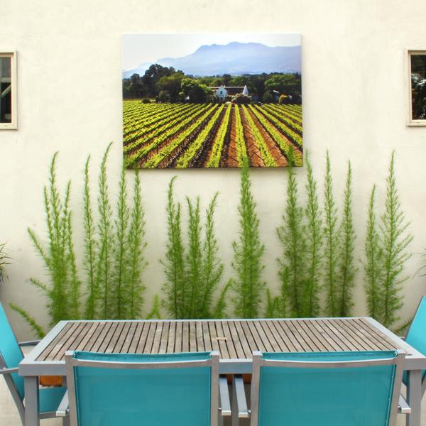 DIY make outdoor art water repellant