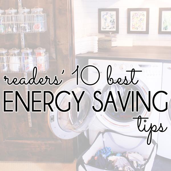 10 Best Energy Saving Tips