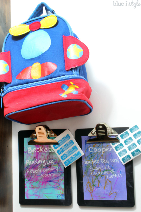 DIY Chalkboard Clipboards Kids Art