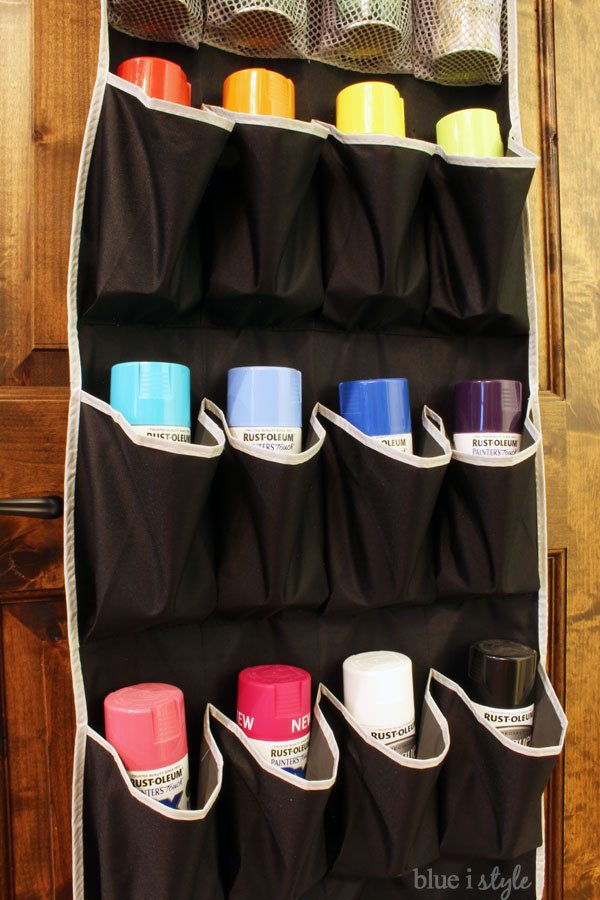 How to organize spray paint