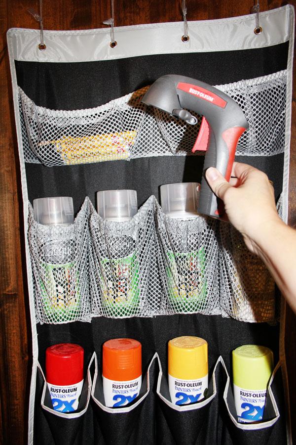 Spray paint comfort grip