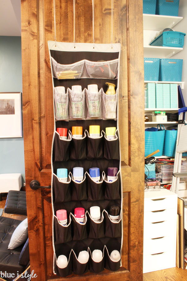 How To Organize Spray Paint Cans Blue I Style