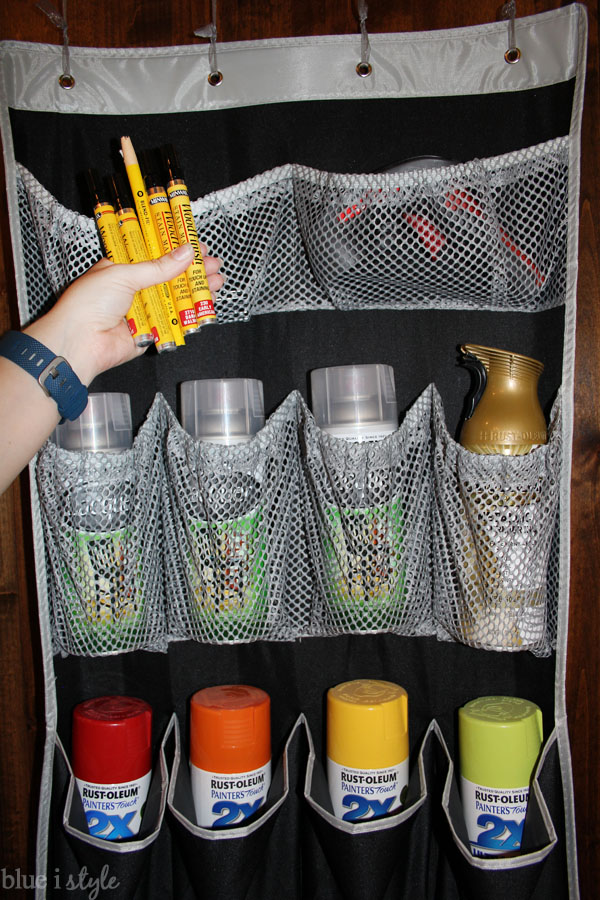 How to store spray paint and other supplies