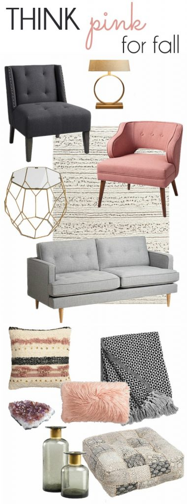 Pink Fall Decorating