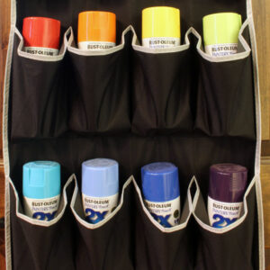Spray Paint Can Organizer