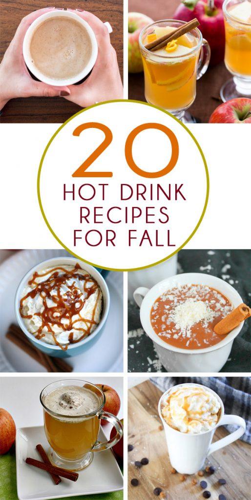 20 Fall Hot Drink Recipes
