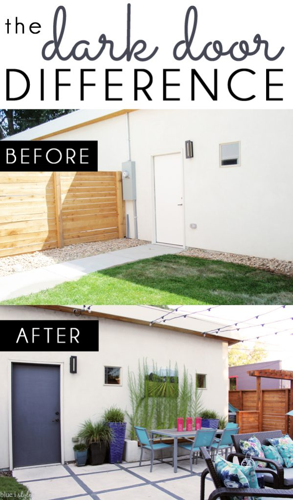 Diy With Style The Dark Door Difference Blue I Style