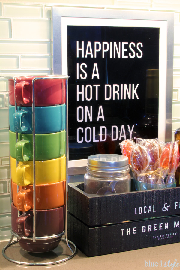 Stacking Mugs for Hot Beverage Station