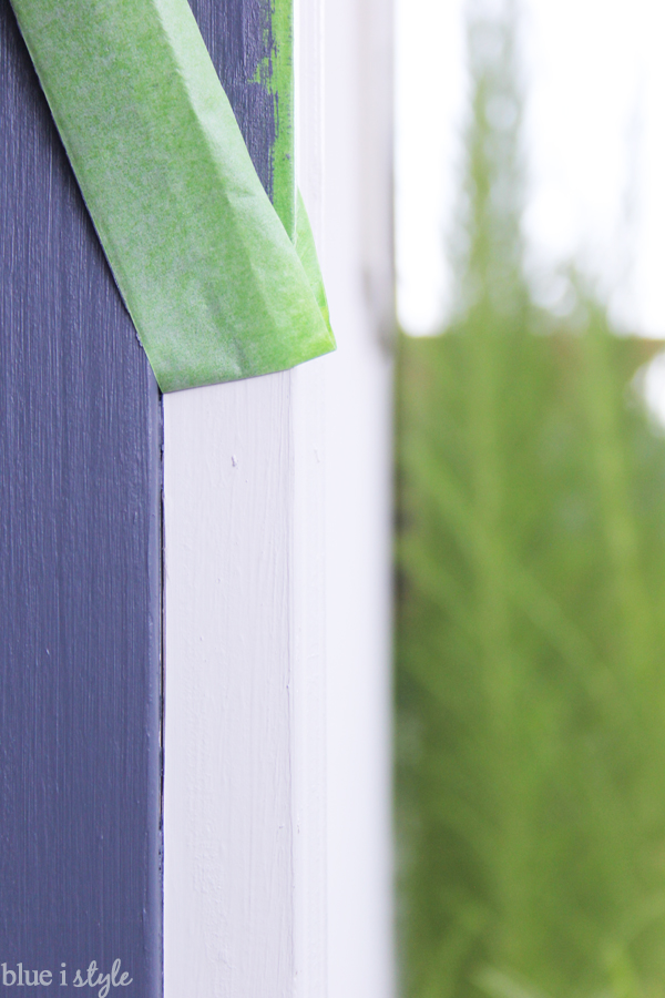 Removing Painter's Tape From Door Jamb