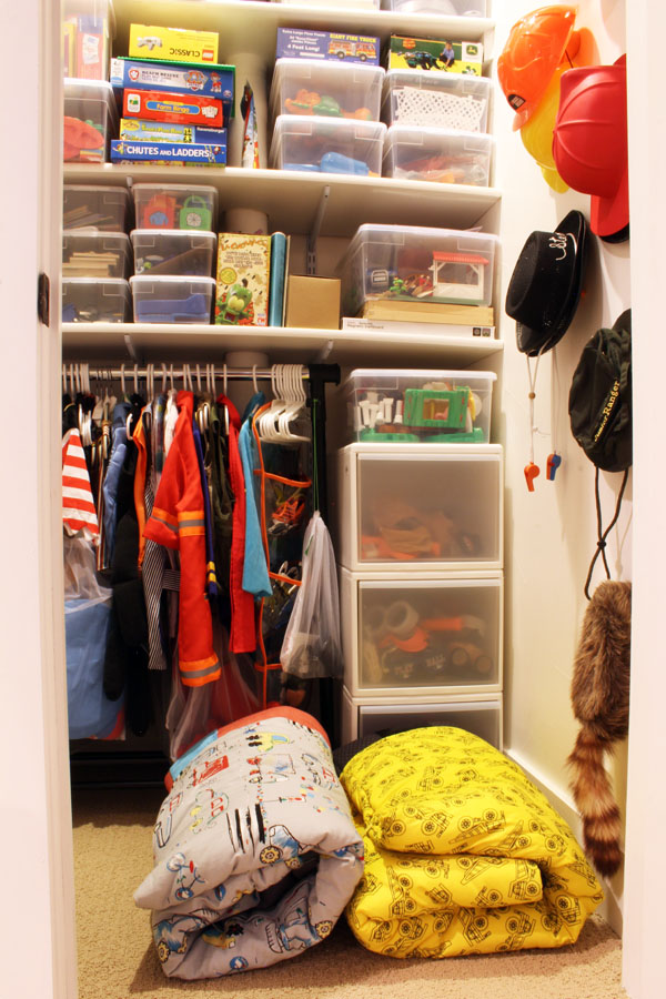 Sleeping bag storage tip