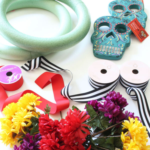 Dia de los Muertos Wreath Supplies