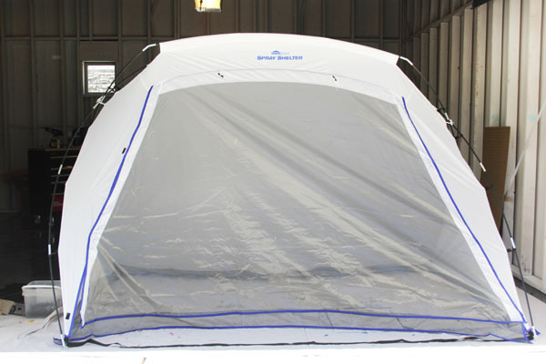 Large HomeRight Spray Shelter