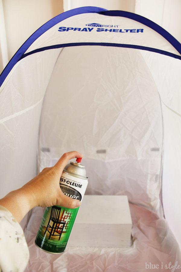 HomeRight Small Spray Shelter