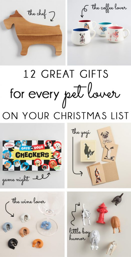the best gifts for pet dog cat lovers