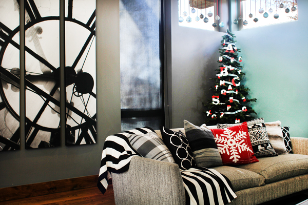 Modern Family Christmas Decor