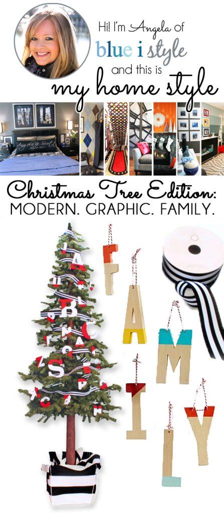 Modern Graphic Family alphabet tree