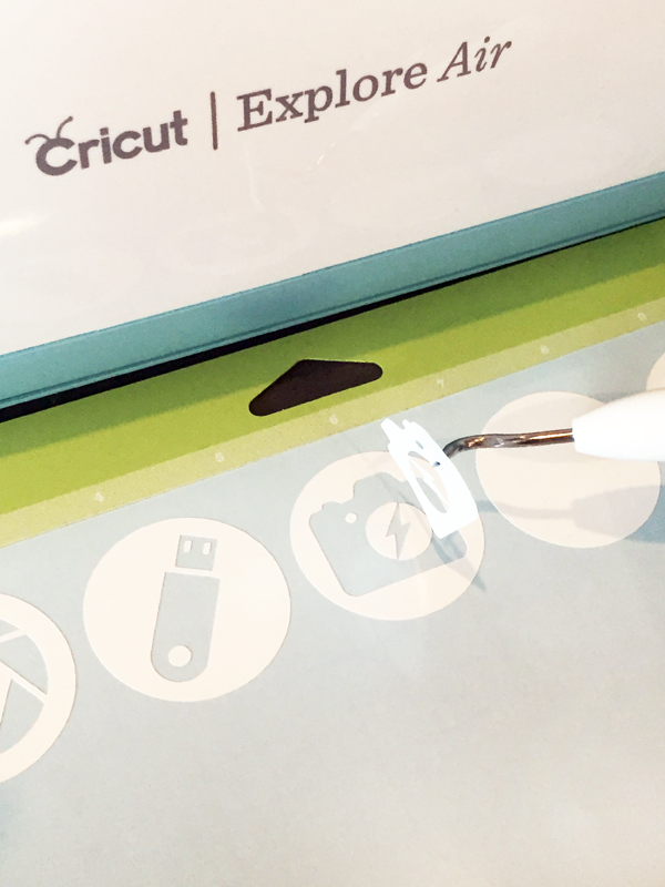 Weeding Vinyl Cricut Cut Icon Labels
