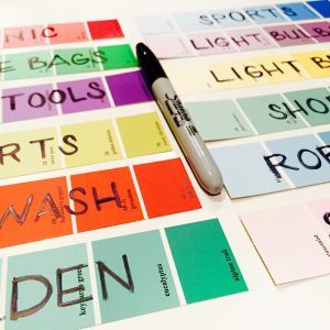 Paint Strip Labels