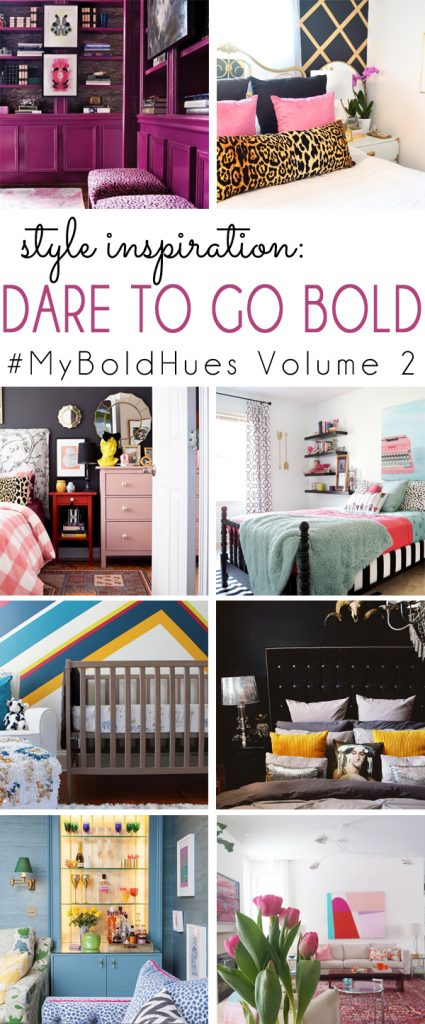 Bold Interior Decor Inspiration from #MyBoldHues