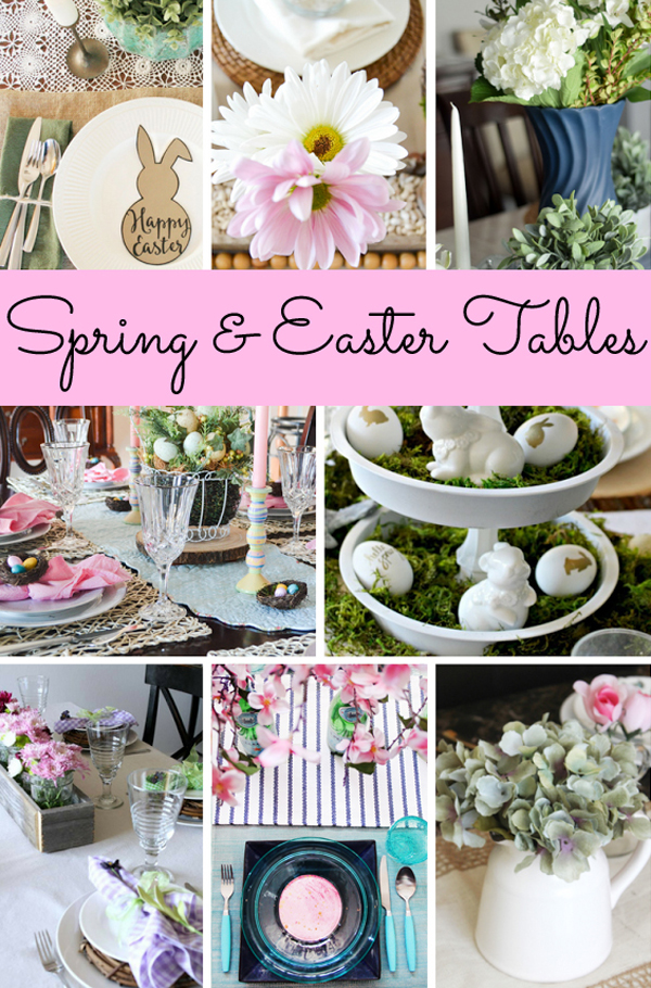 Spring and Easter Tablescapes