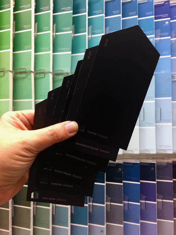 Choosing Black Paint