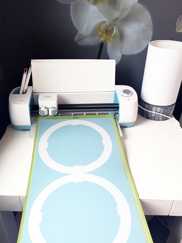 Cricut Interlocking Circles Vinyl Pattern