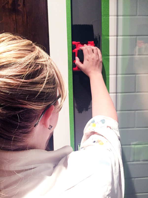 Paint edger tool
