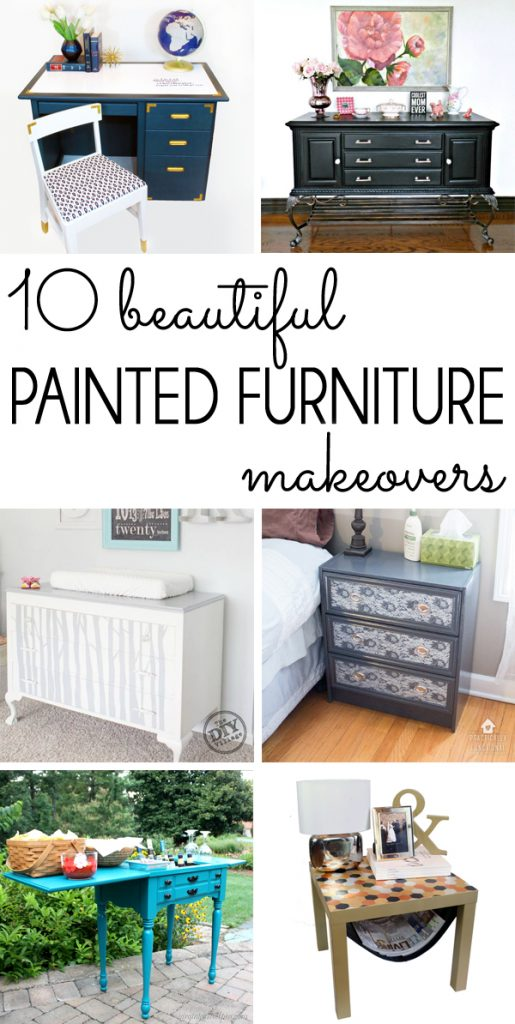 Painted Furniture Makeovers