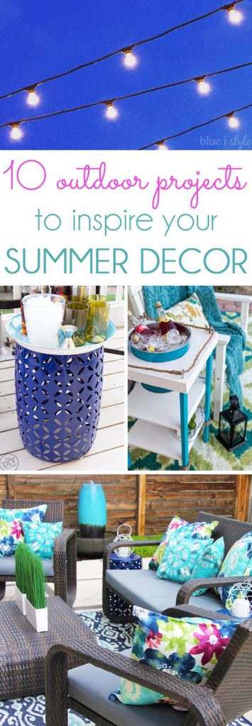 Inspiring Outdoor Decor & DIY Projects
