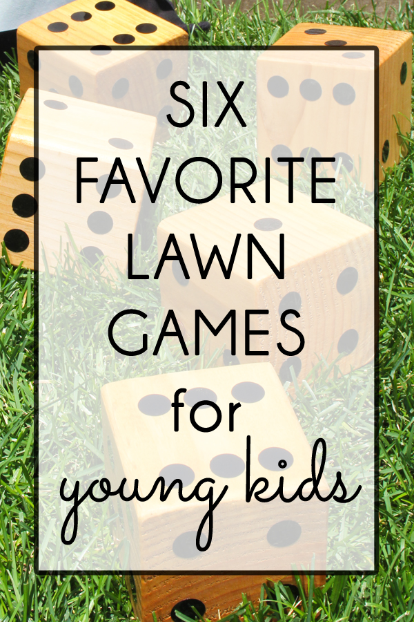 favorite lawn games for young kids