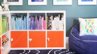 Organizing Kids' Stuff