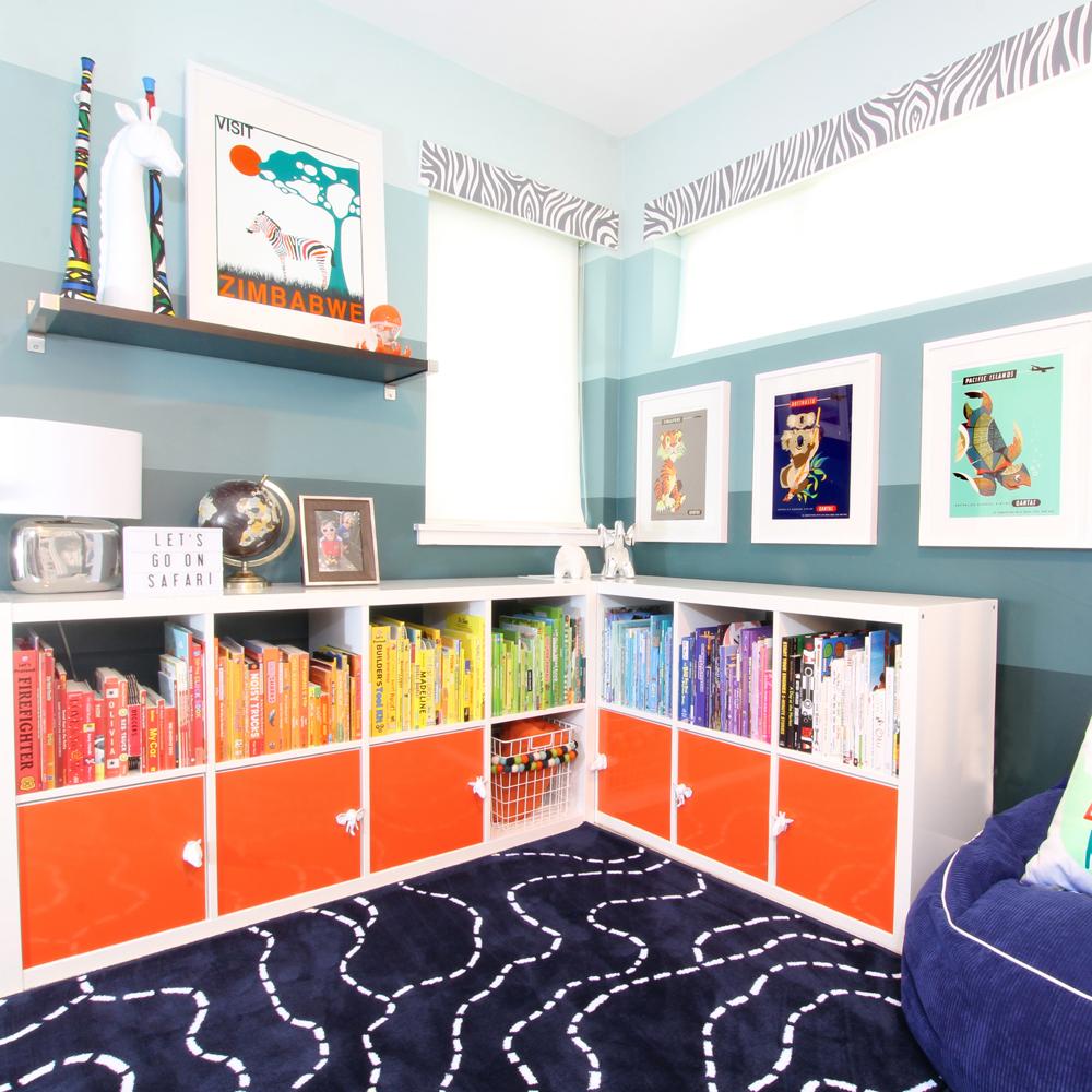 Shared Boys Bedroom Makeover Blue I Style
